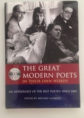 9781848661233: THE GREAT MODERN POETS In Their Own Words-Best Poetry Since 1900 - Book & CD