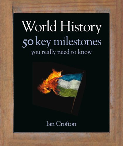 9781848661318: World History: 50 Key Milestones You Really Need to Know