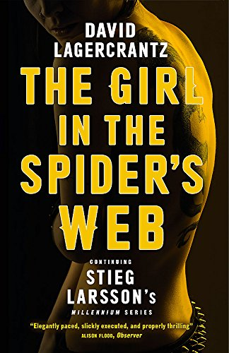 9781848667785: The Girl in the Spider's Web: Continuing Stieg Larsson's Millennium Series