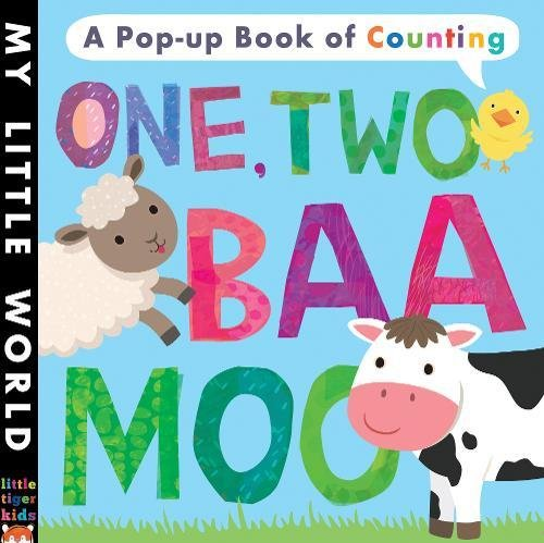 9781848691223: One, Two, Baa, Moo: A pop-up book of counting