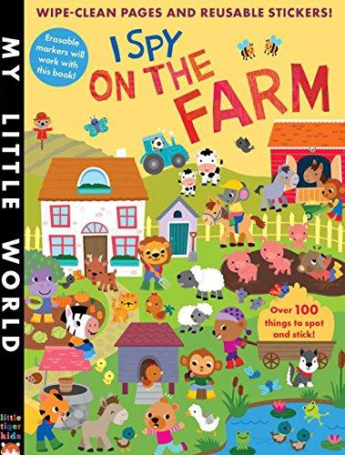 9781848691247: I Spy on the Farm (My Little World)