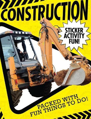 Construction Sticker Activity Fun: Hegarty, Patricia, Walden, Libby