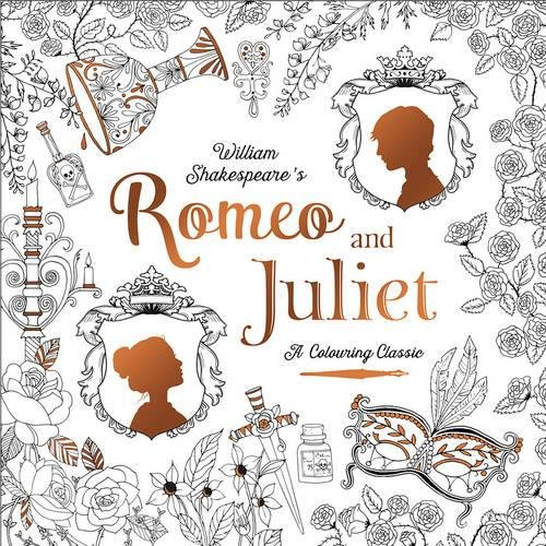 9781848693272: Romeo & Juliet (A Colouring Classic)