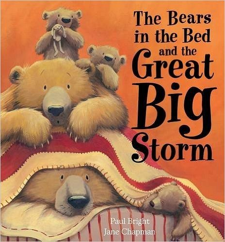 BEARS BED and BIG STORM BK/CD: Little Tiger Press