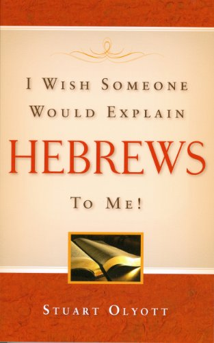 9781848710603: I Wish Someone Would Explain Hebrews to Me!