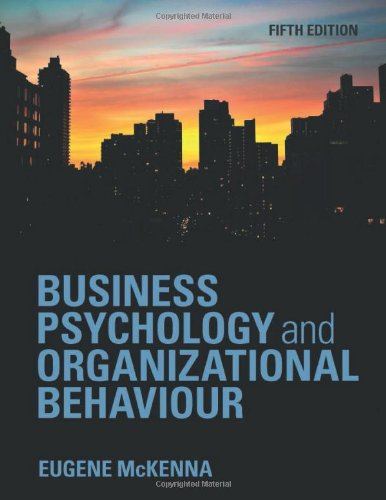 9781848720343: Business Psychology and Organizational Behaviour