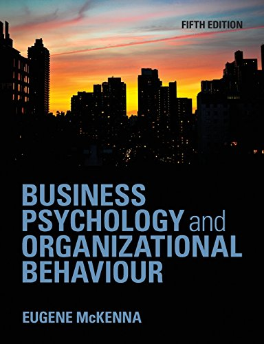 9781848720350: Business Psychology and Organizational Behaviour