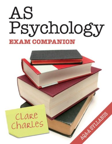 AS Psychology Exam Companion: Charles, Clare