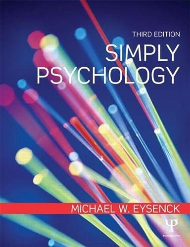 9781848721029: Simply Psychology