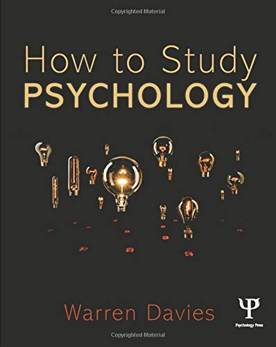9781848721067: How to Study Psychology