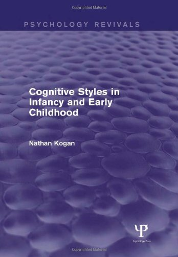 Psychology Revivals Bundle: Cognitive Styles in Infancy and Early Childhood (Psychology Revivals): ...