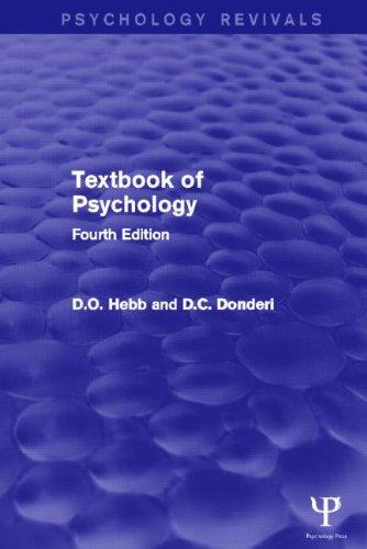 9781848722910: Textbook of Psychology (Psychology Revivals)