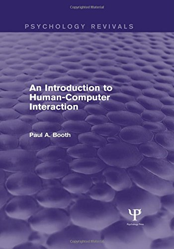 9781848723139: An Introduction to Human-Computer Interaction (Psychology Revivals)