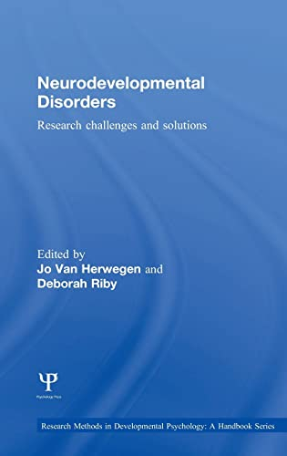 9781848723283: Neurodevelopmental Disorders: Research challenges and solutions (Research Methods in Developmental Psychology: A Handbook Series)