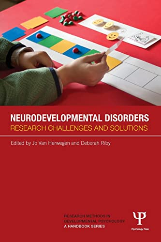 9781848723290: Neurodevelopmental Disorders: Research challenges and solutions (Research Methods in Developmental Psychology: A Handbook Series)