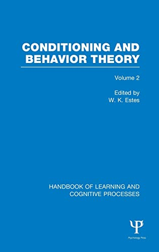 9781848723900: Handbook of Learning and Cognitive Processes (Volume 2): Conditioning and Behavior Theory