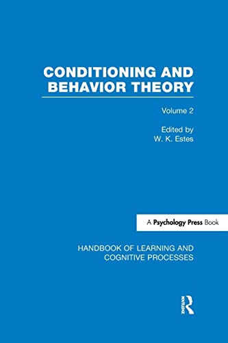 9781848723917: Handbook of Learning and Cognitive Processes (Volume 2): Conditioning and Behavior Theory