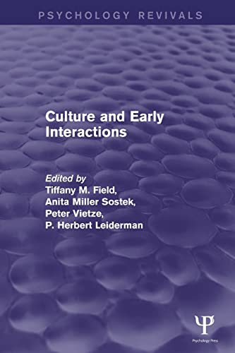 9781848724587: Culture and Early Interactions (Psychology Revivals)