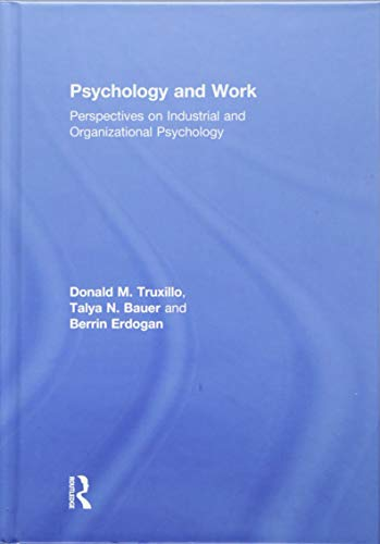 9781848725072: Psychology and Work: Perspectives on Industrial and Organizational Psychology