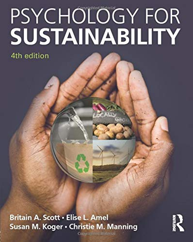 9781848725805: Psychology for Sustainability: 4th Edition
