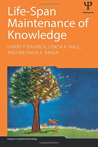 9781848726505: Life-Span Maintenance of Knowledge (Essays in Cognitive Psychology)