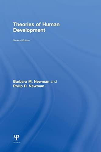 9781848726666: Theories of Human Development
