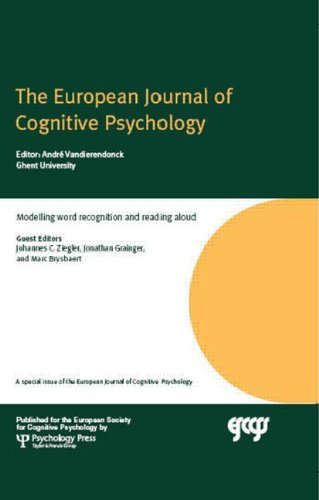 9781848727274: Modelling Word Recognition and Reading Aloud: A Special Issue of the European Journal of Cognitive Psychology (Special Issues of the Journal of Cognitive Psychology)