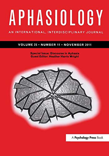 Discourse in Aphasia: Wright, Heather Harris