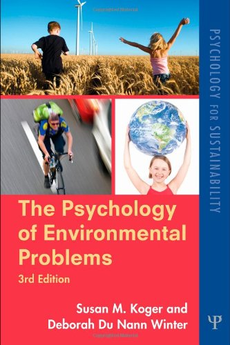 9781848728097: The Psychology of Environmental Problems: Psychology for Sustainability