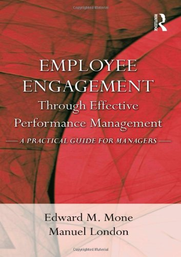 9781848728202: Employee Engagement Through Effective Performance Management: A Practical Guide for Managers