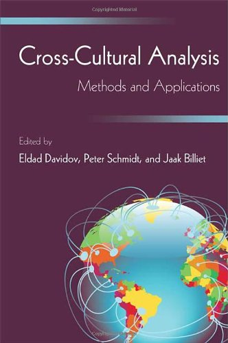 9781848728226: Cross-Cultural Analysis: Methods and Applications (European Association of Methodology Series)
