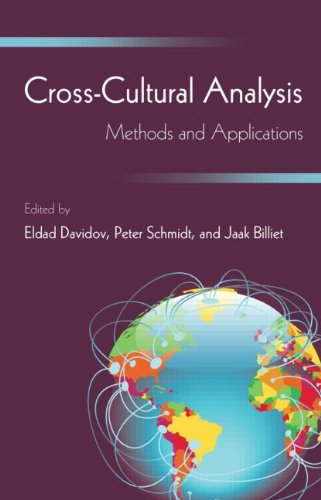 9781848728233: Cross-Cultural Analysis: Methods and Applications (European Association of Methodology Series)