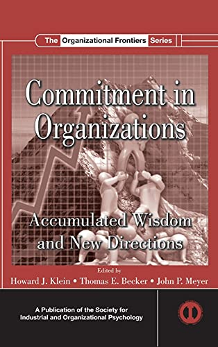 9781848728301: Commitment in Organizations: Accumulated Wisdom and New Directions (SIOP Organizational Frontiers Series)