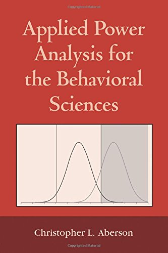 9781848728356: Applied Power Analysis for the Behavioral Sciences