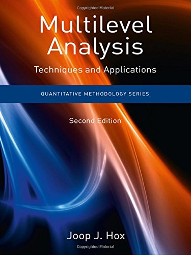 9781848728455: Multilevel Analysis: Techniques and Applications, Second Edition (Quantitative Methodology Series)