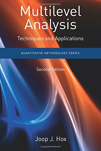 9781848728462: Multilevel Analysis: Techniques and Applications, Second Edition (Quantitative Methodology Series)