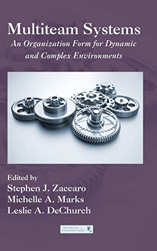 9781848728691: Multiteam Systems: An Organization Form for Dynamic and Complex Environments (Organization and Management Series)