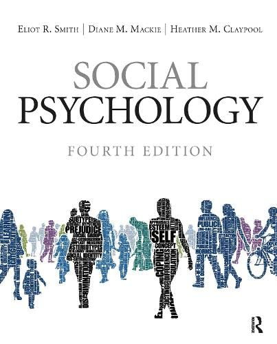 9781848728936: Social Psychology: Fourth Edition