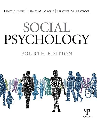 9781848728943: Social Psychology: Fourth Edition
