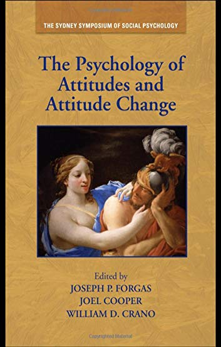 9781848729087: The Psychology of Attitudes and Attitude Change (Sydney Symposium of Social Psychology)