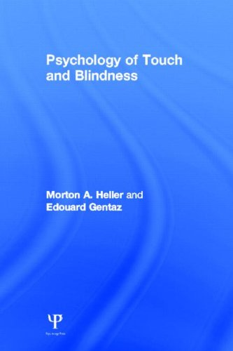 9781848729452: Psychology of Touch and Blindness