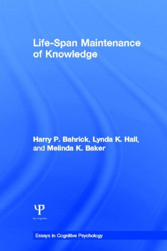 9781848729896: Life-Span Maintenance of Knowledge (Essays in Cognitive Psychology)
