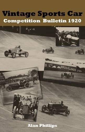 Th Vintage Sports Car Competition Bulletin 1920 (1848761945) by Phillips, Alan