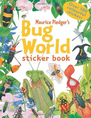 9781848770584: Bug World Sticker Book