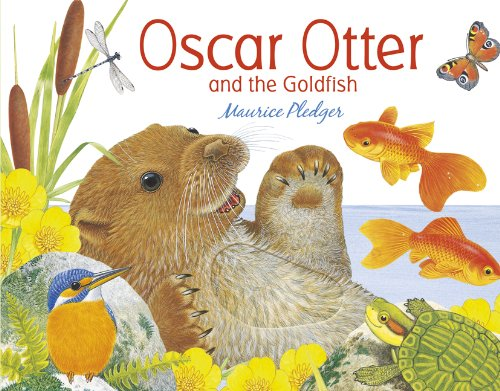 Oscar Otter and the Goldfish (1848773552) by Maurice Pledger