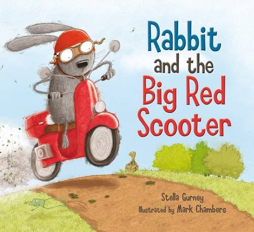 9781848774087: Rabbit and the Big Red Scooter