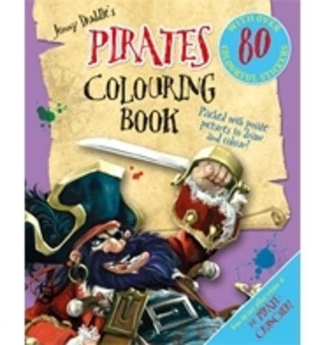 9781848775077: Jonny Duddle's Pirates Colouring Book