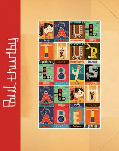 9781848776180: Paul Thurlby's Alphabet Special Signed Edition