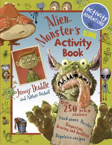 Alien Monster's Slimy Activity Book: Hamilton, Libby
