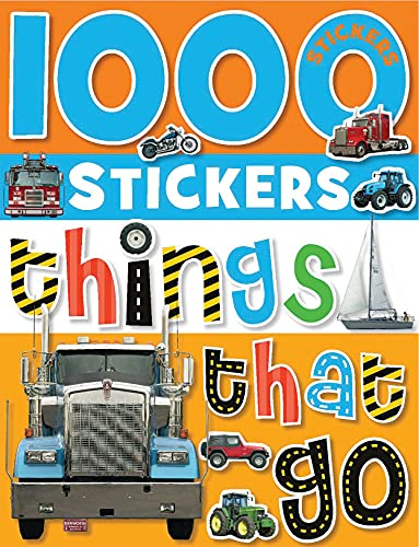 9781848790728: 1000 Stickers: Things That Go